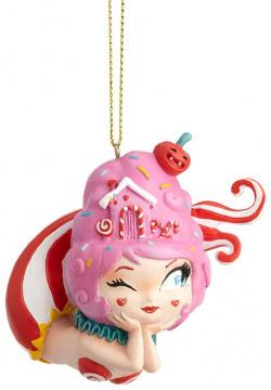 Cotton Candy Meerjungfrau Weihnachtsbaumhänger MISS MINDY