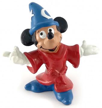 Micky Zauberer BULLY Kleinfigur 6,5cm