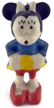 Minni Maus HEIMO Kleinfigur 5cm (Var.: blau/gelb/rot)
