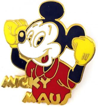 Anstecker Micky Maus Sieger