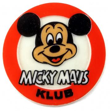Button MICKY MAUS KLUB
