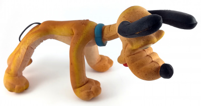 Pluto Gummifigur (70er Jahre)