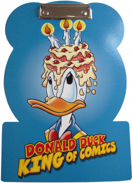 Klemmbrett Donald Duck King of Comics