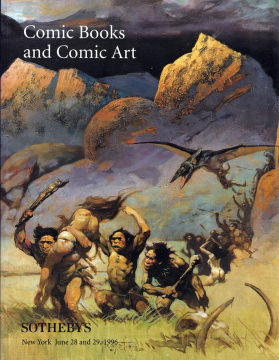 Sothebys Comic Books and Comic Art (Auction June 28/29, 1996)