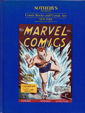 Sothebys Comic Books and Comic Art (Auction December 18, 1991)