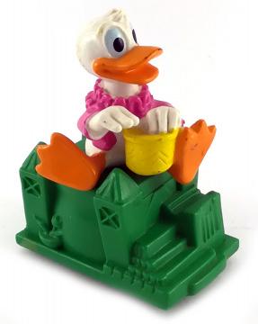 Donald Duck auf Magic Kingdom Schloss (BURGER KING, 1991) Aufziehfigur