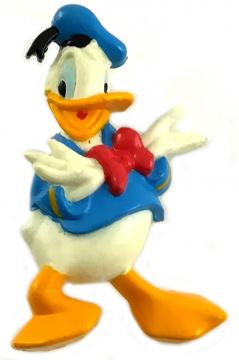Donald Duck zweihändig Anstecker (MONOGRAM)