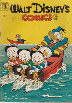 Walt Disneys Comics and Stories 130