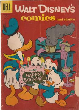 Walt Disneys Comics and Stories 195