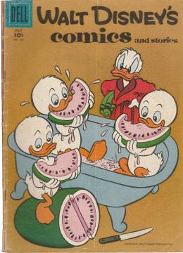 Walt Disneys Comics and Stories 202