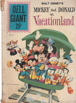 Dell Giant 47: Mickey and Donald in Vacationland