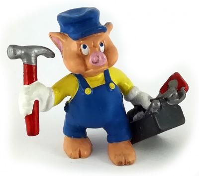 Schweinchen Schlau BULLY Kleinfigur