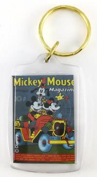 Schlüsselanhänger Comic-Heftcover Mickey Mouse Magazine V2#11