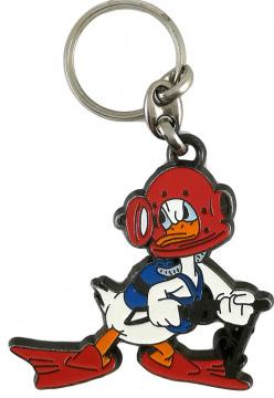 Schlüsselanhänger Donald Duck Taucher