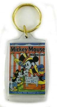 Schlüsselanhänger Comic-Heftcover Micky Maus Magazine V2#13: A Circus for 10ȼ