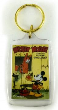 Schlüsselanhänger Buchcover Micky Maus and His Horse Tanglefoot