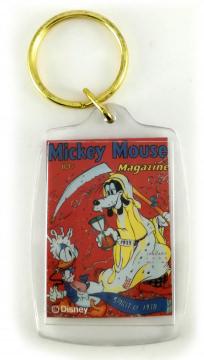 Schlüsselanhänger Comic-Heftcover Mickey Mouse Magazine V3#4: Spirit of 1938