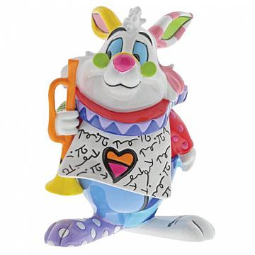 Weißes Kaninchen (White Rabbit) BRITTO Minifigur