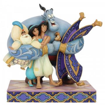 Aladdin: Gruppenumarmung DISNEY TRADITIONS Figur