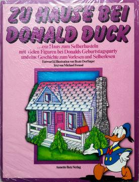 Zu Hause bei Donald Duck (Bastelbogen)