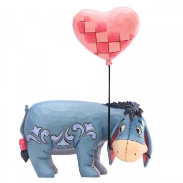 I-Aah (Eeyore) mit Herzballon DISNEY TRADITIONS Figur