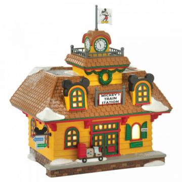Mickeys Holiday Train Station - EU Version