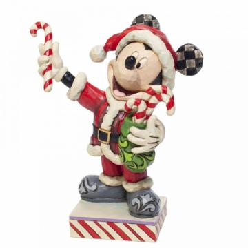 Micky Maus mit Candystangen (DISNEY TRADITIONS)  Figur