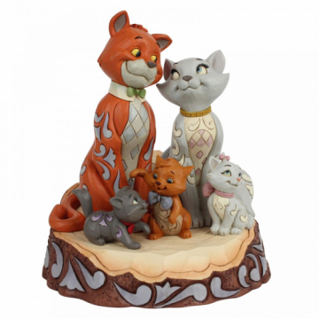 Aristocats DISNEY TRADITIONS Carved by Heart Figur