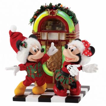 Micky und Minni: Jingle Bell Swing (DEPARTMENT 56) Figur