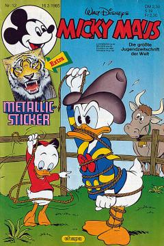 Micky Maus 12/1985 (o. Beilage / Z:1)