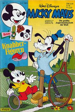 Micky Maus 11/1985 (o. Beilage / Z:1-2)