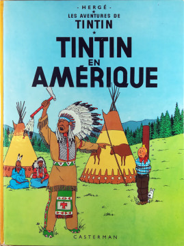 Hergé - Les Aventures de Tintin [2]: Tintin en Amérique
