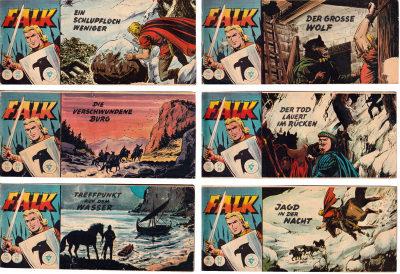 Falk (Lehning Piccolo) Nr. 107, 109, 110, 111, 127, 138