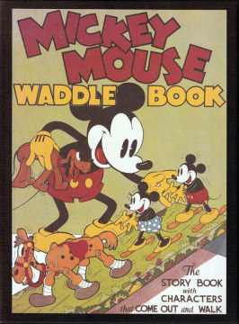 Mickey Mouse Waddle Book. The Story Book with Characters that Come Out and Walk. Collectors Edition im Schuber