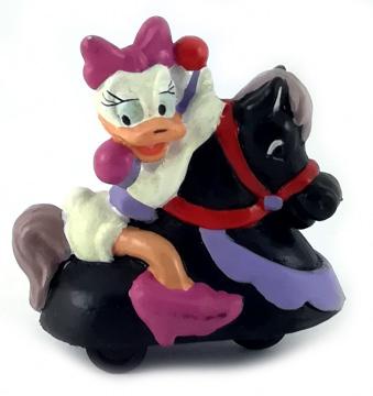 Daisy auf Karusselpferd (mit Rollen) APPLAUSE Kleinfigur 6cm