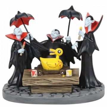 Vampire Brothers Prepare the Duck DEPARTMENT 56 Figur