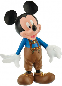 Micky Maus Lederhose BULLY Kleinfigur