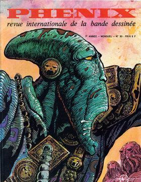 Phénix. Revue internationale de la bande bessinée. Nº 30 (1973)