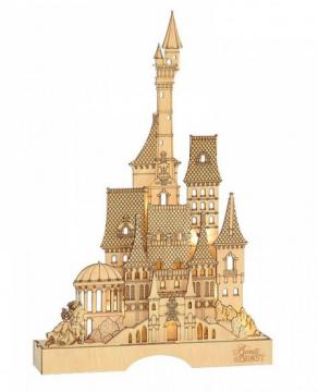 Die Schöne und das Biest Illuminated Castle (DEPARTMENT 56)