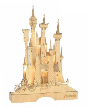 Cinderella Illuminated Castle (DEPARTMENT 56)