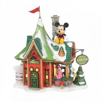 Mickeys Stuffed Animals Illuminated Building