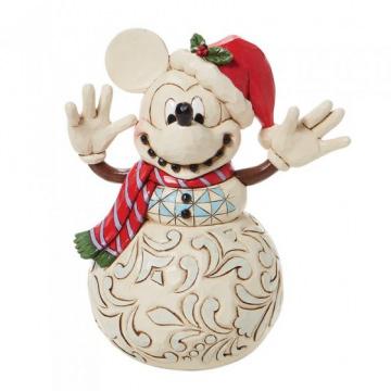 Snowy Smiles - Micky Maus Schneemann