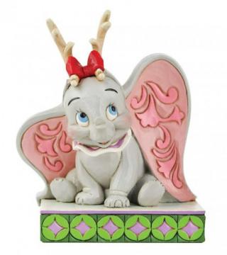 Dumbo als Rentier: Santas Cheerful Helper (DISNEY TRADITIONS) Figur