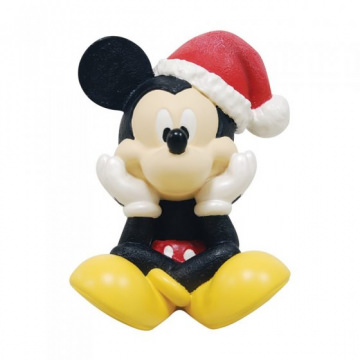 Micky Maus Weihnachtsfigur