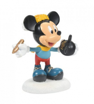Mickeys Finishing Touches Figur