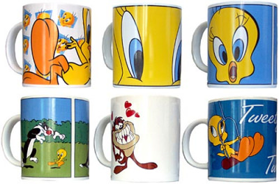 Bechersatz Looney Tunes (6 Becher)