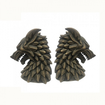 House Stark Bookends - Game of Thrones by Dept 56 (2er Set)