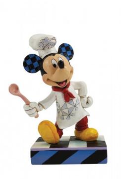 Chefkoch Micky Maus Bon Appétit Figur