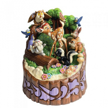Bambi: Forest Friends Carved by Heart Figur