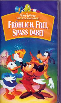 Fröhlich, Frei, Spaß dabei (Video, VHS) [Walt Disney Meisterwerke]
